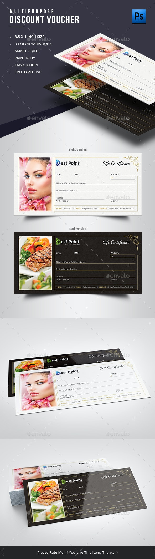 Gift Certificate - Certificates Stationery