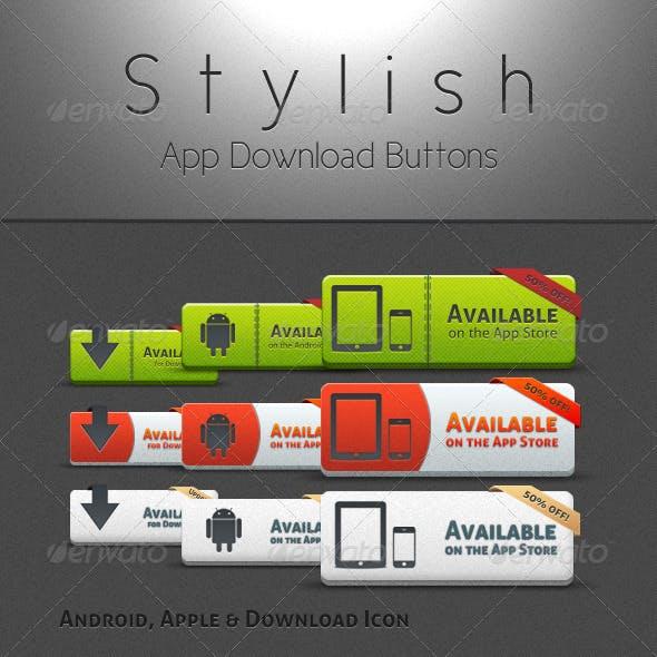 Stylish App Buttons
