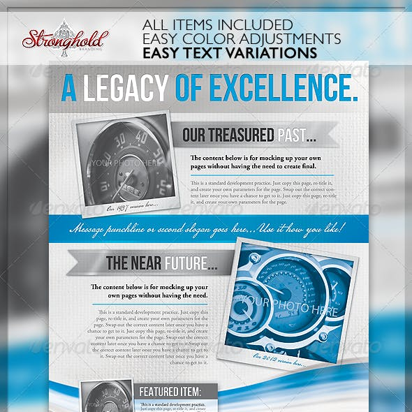 Legacy Corporate Flyer Template