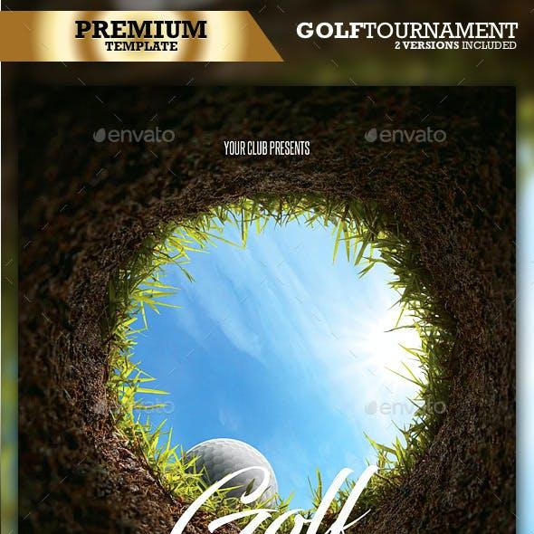 Golf Flyer / Golf Tournament (2 in 1)