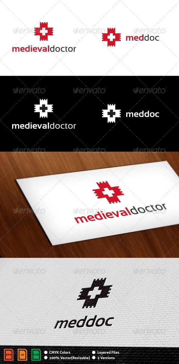 Medieval Doctor Logo Template - Symbols Logo Templates