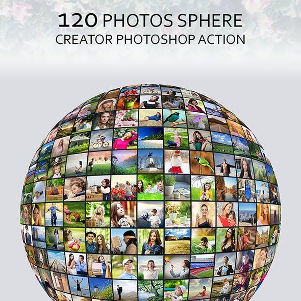 120 Photos Sphere Creator