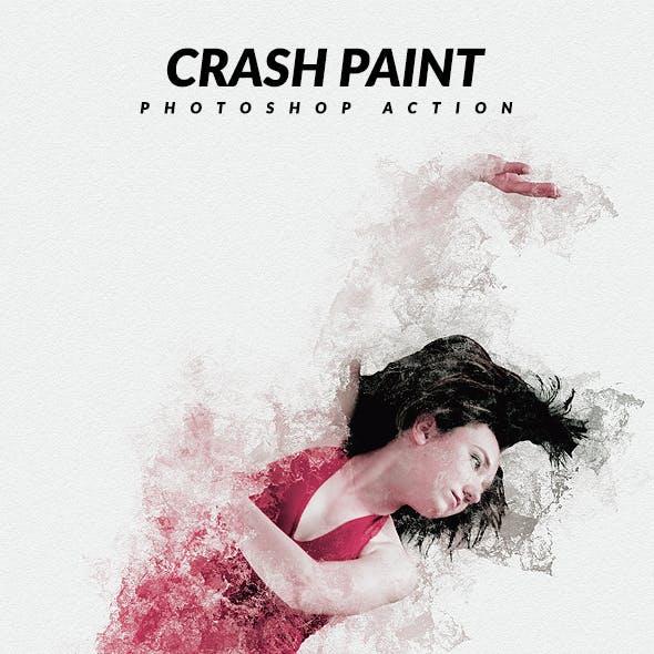 Crash Paint Photoshop Action