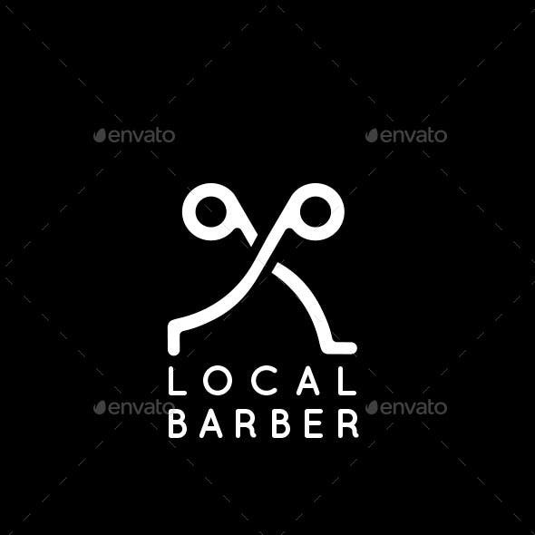 A Trendy Barber Logo