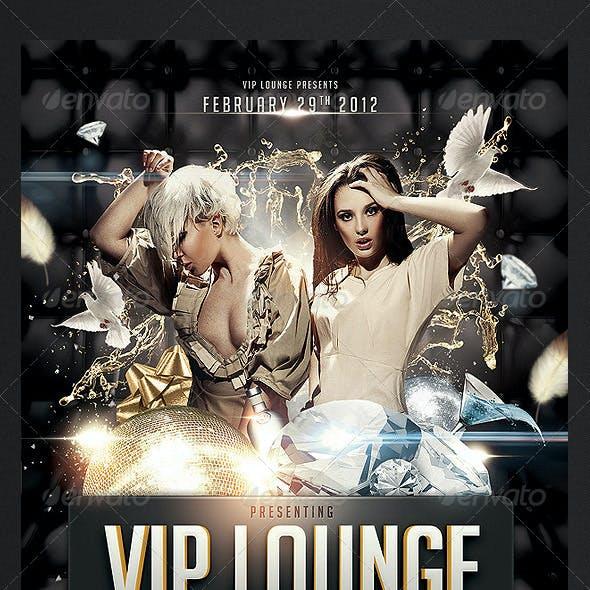 VIP Lounge Flyer