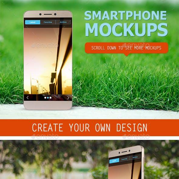 Smartphone Mockup Set