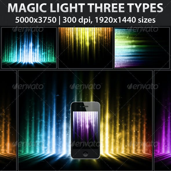 Magic Light Three Types