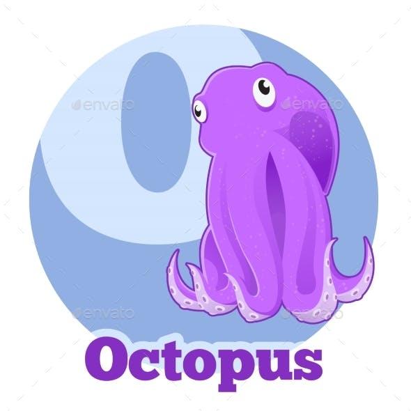 ABC Cartoon Octopus2