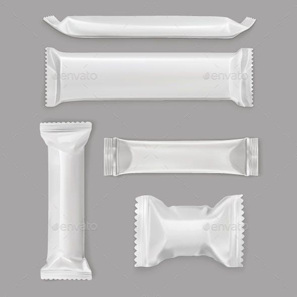 White Polyethylene Package