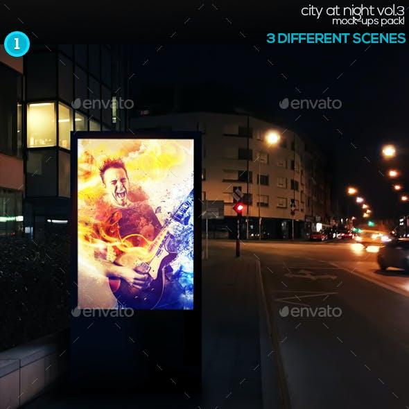 City At Night Vol.3 Mock-Ups Pack