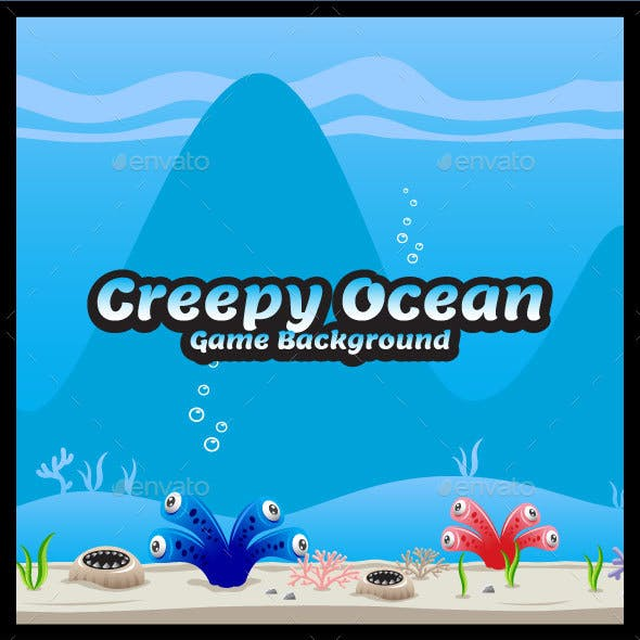 Creepy Ocean Game Background