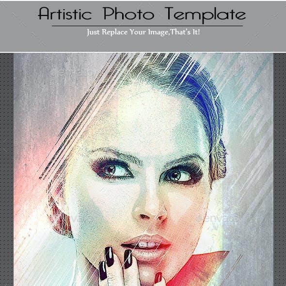 Artistic Photo Template
