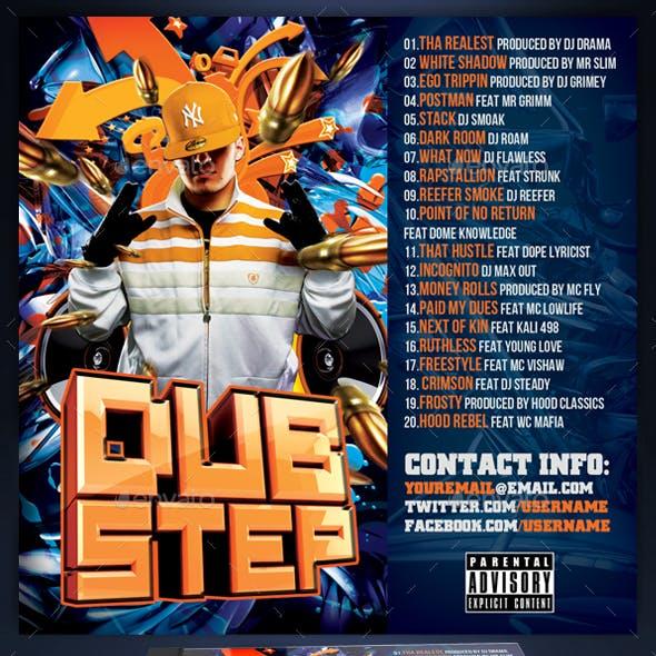 Mixtape / CD Cover Template - Dubstep Remix