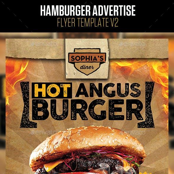 Hamburger Advertise v2 Flyer