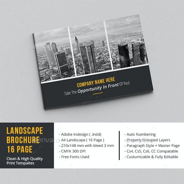 Landscape Brochure 16 Page