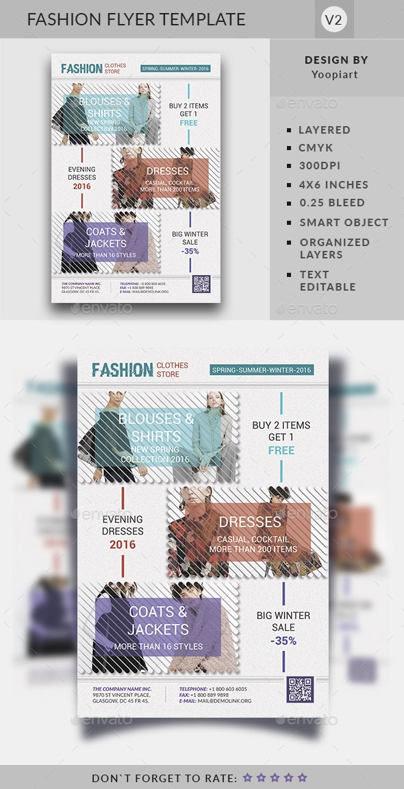 Fashion Flyer Template - Commerce Flyers