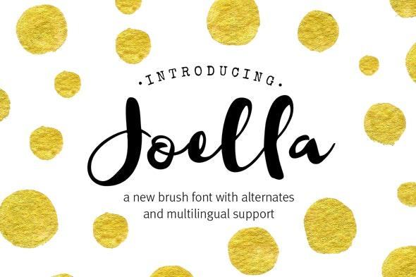 Joella Font - Fonts