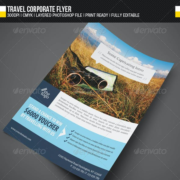 Travel Corporate Flyer