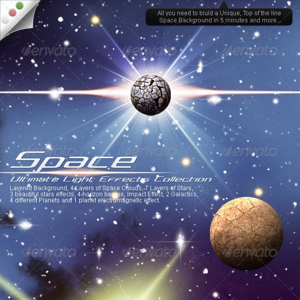 Ultimate Light Effects Collection (Space)