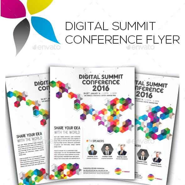 Digital Summit Conference Flyer