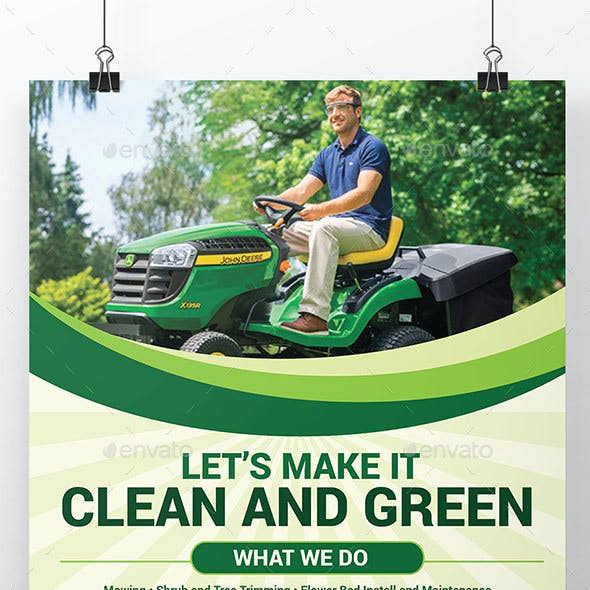 Mowing Service Flyer