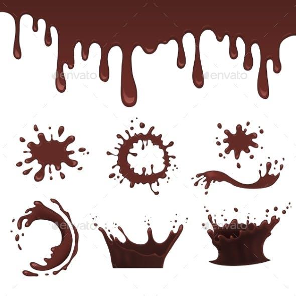 Chocolate Splash Set