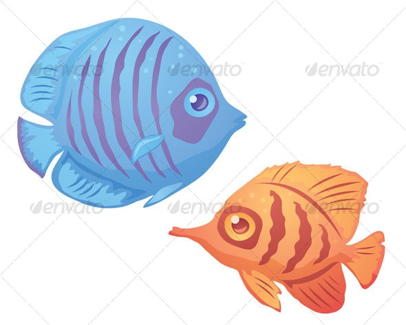 Tropical Fish - Animals Characters