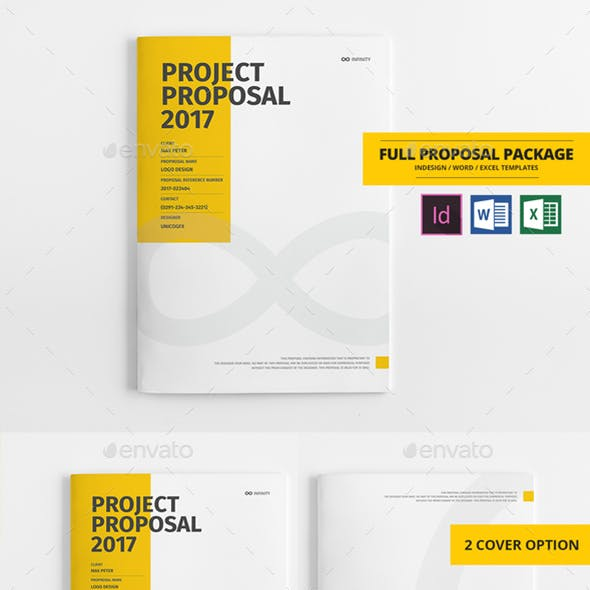 +100 Pages Bundle Full Proposal Packages A4 / US Letter
