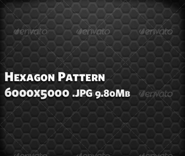 Hexagon Pattern - Fabric Textures