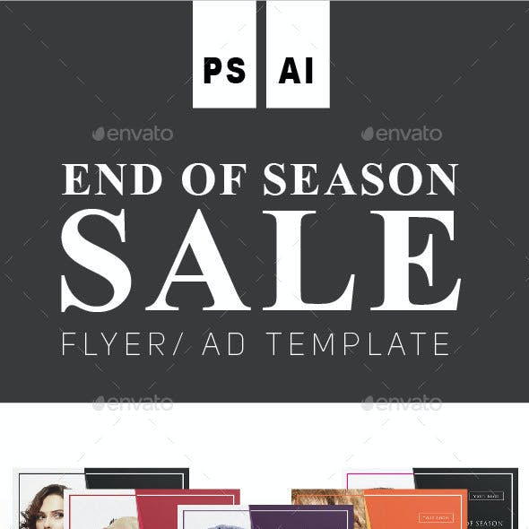 END OF SEASON SALE Flyer Vol. 2
