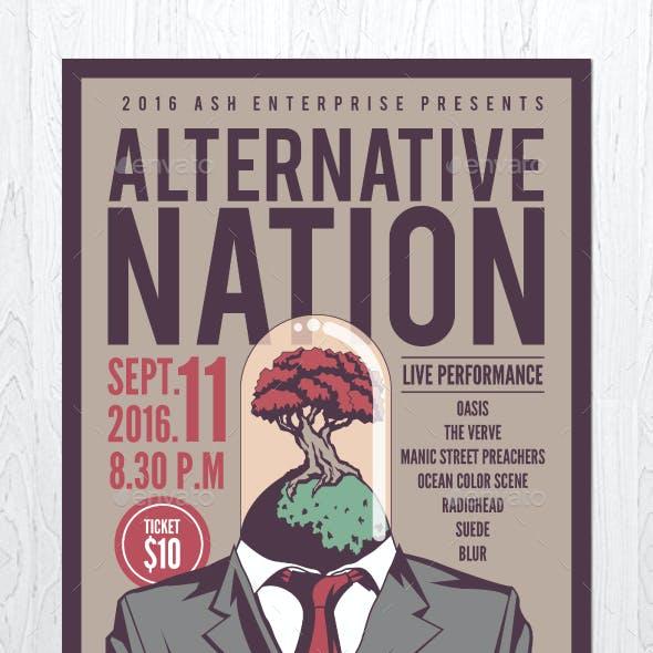 Alternative Nation Flyer