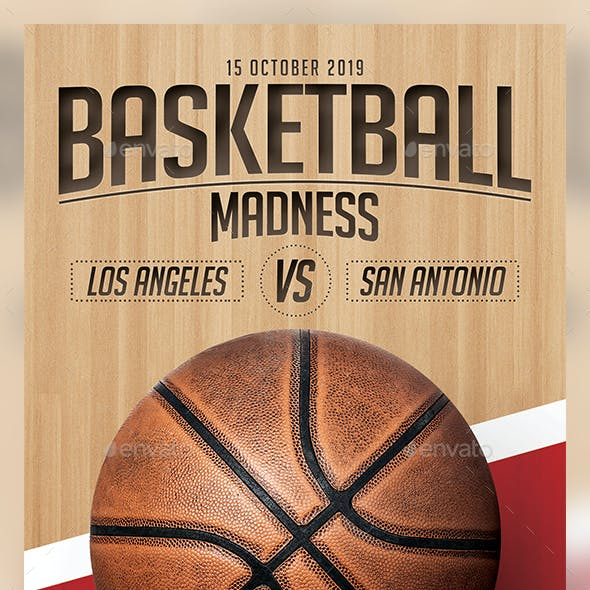 Basketball Flyer Template