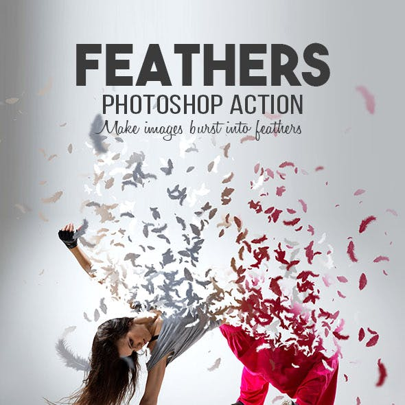 Feathers Photoshop Action
