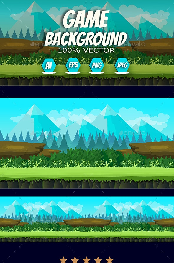 2d Game Background - Backgrounds Game Assets