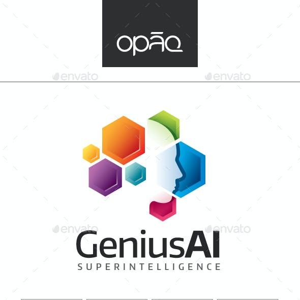GeniusAI Logo