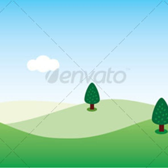 Another Green Landscape Background