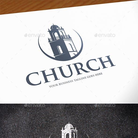 Church Tower Logo Template