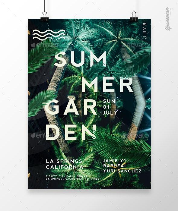 Summer Garden Flyer - Flyers Print