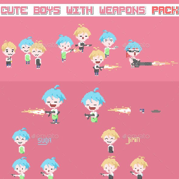 Boys with Weapons Pack