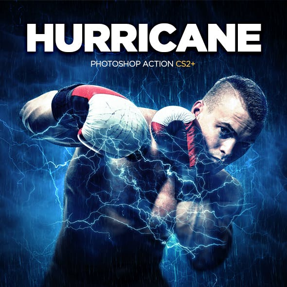 Hurricane Photoshop Action CS2+