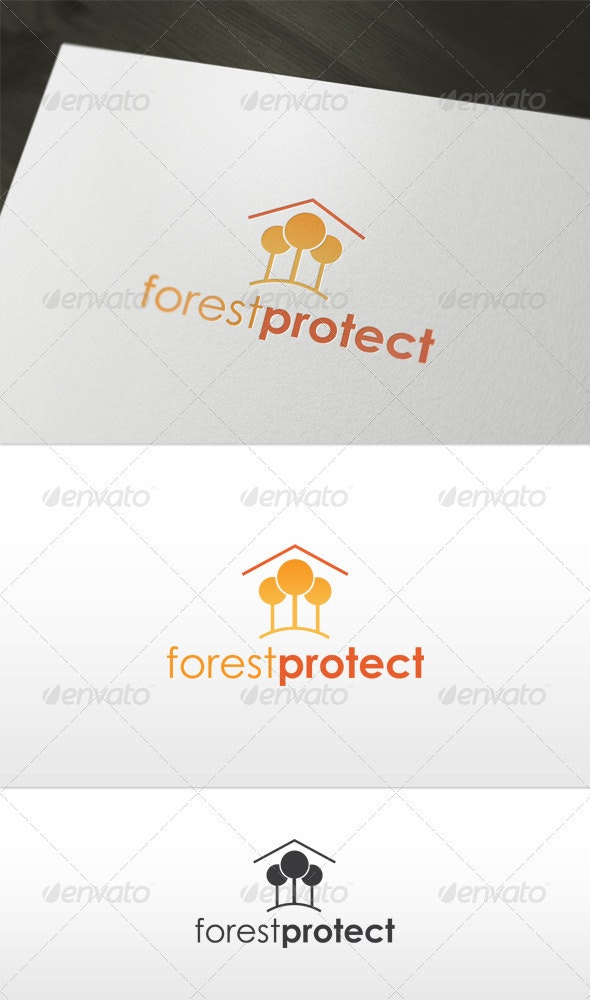 Forest Protect Logo - Nature Logo Templates