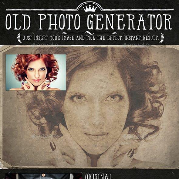 Old Photo Generator