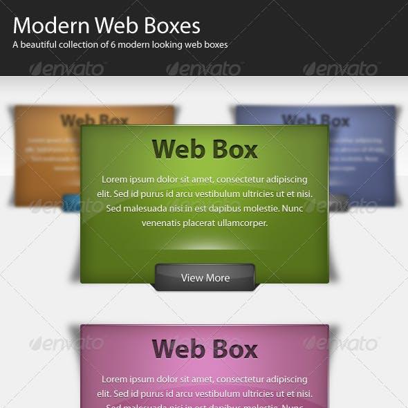 Modern Web Boxes