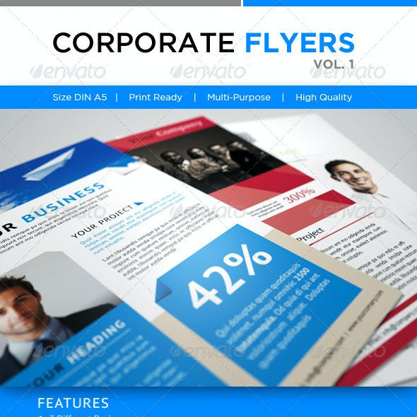 Corporate Flyer's Vol. 1