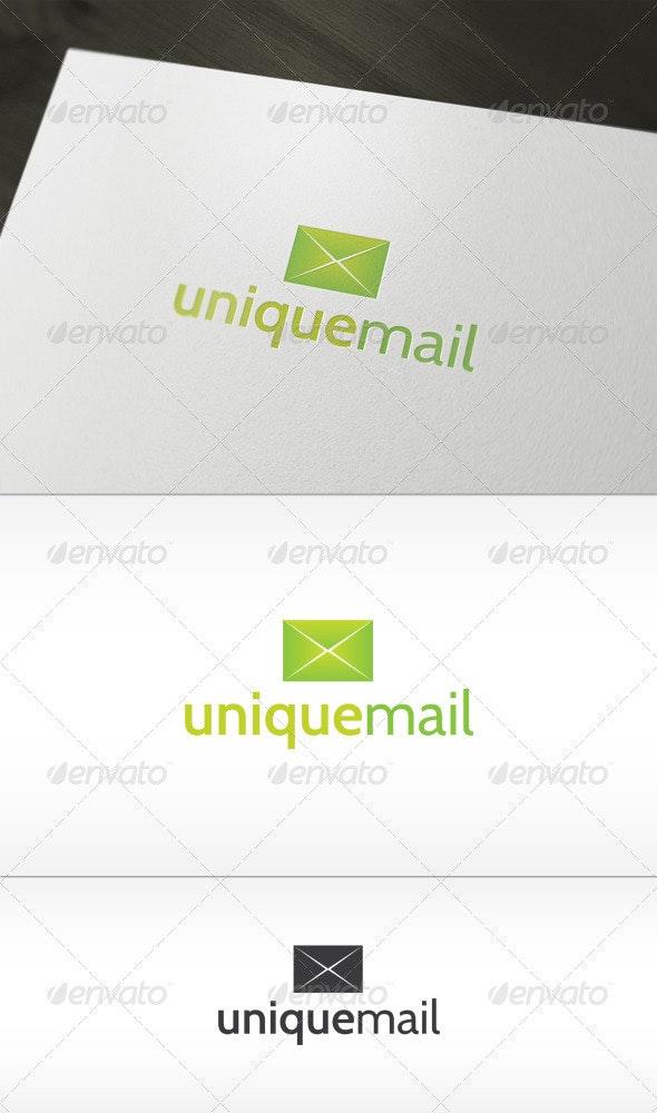 Unique Mail Logo - Symbols Logo Templates