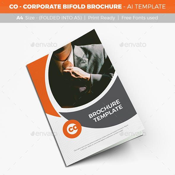 CO - Corporate Bifold Brochure