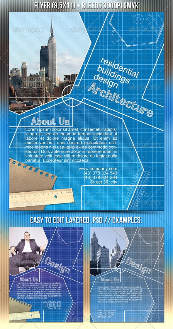 Architecture Flyer - Corporate Flyers