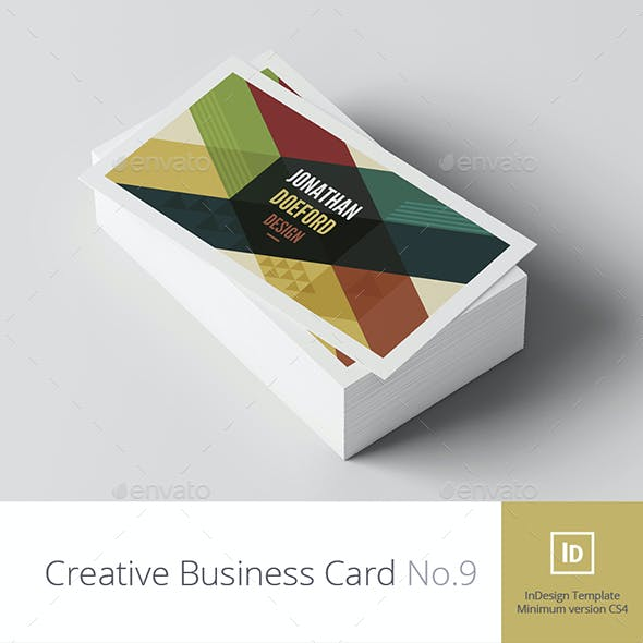 Creative Business Card No.9