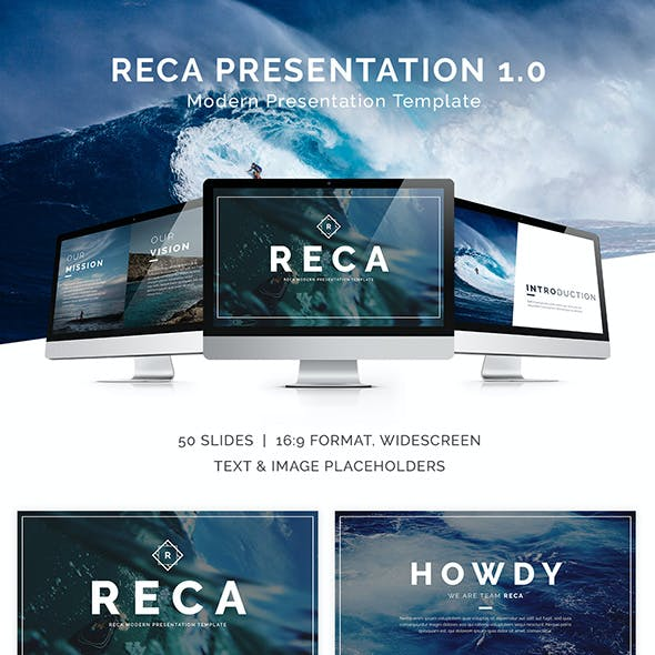 Reca Modern Presentation Template