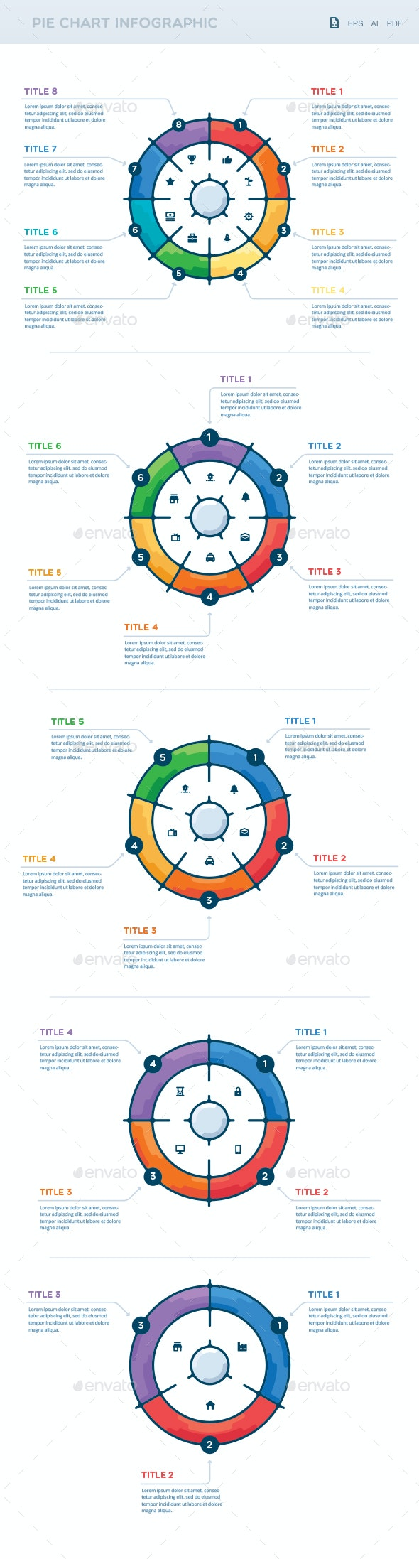 Pie Chart Infographic - Infographics